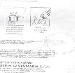 Denuncian que alcalde de Chipurana  entregó productos vencidos a madres