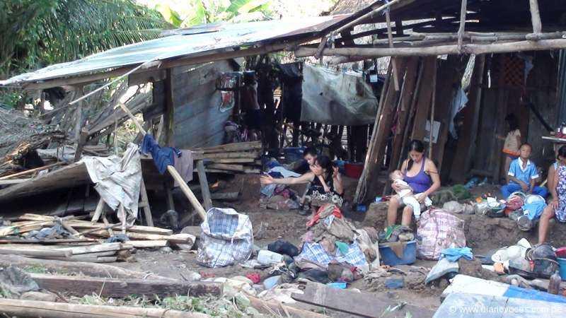 Tragedia en Huicungo por  desborde brutal de quebrada