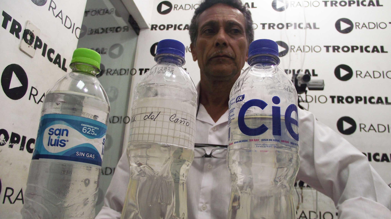 Denuncian que construyeron mal red de agua potable en Shamboyacu