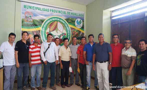 Productores forman Alianza Cacao Huallaga