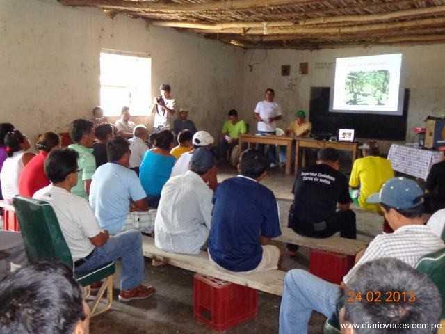 Autoridades y pobladores de Sión acuerdan participar de proyecto cacaotero