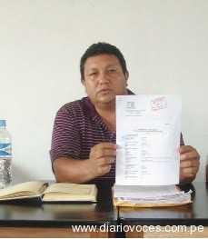 Regidores de La Banda de Shilcayo  denuncian tachuelas en sus asientos