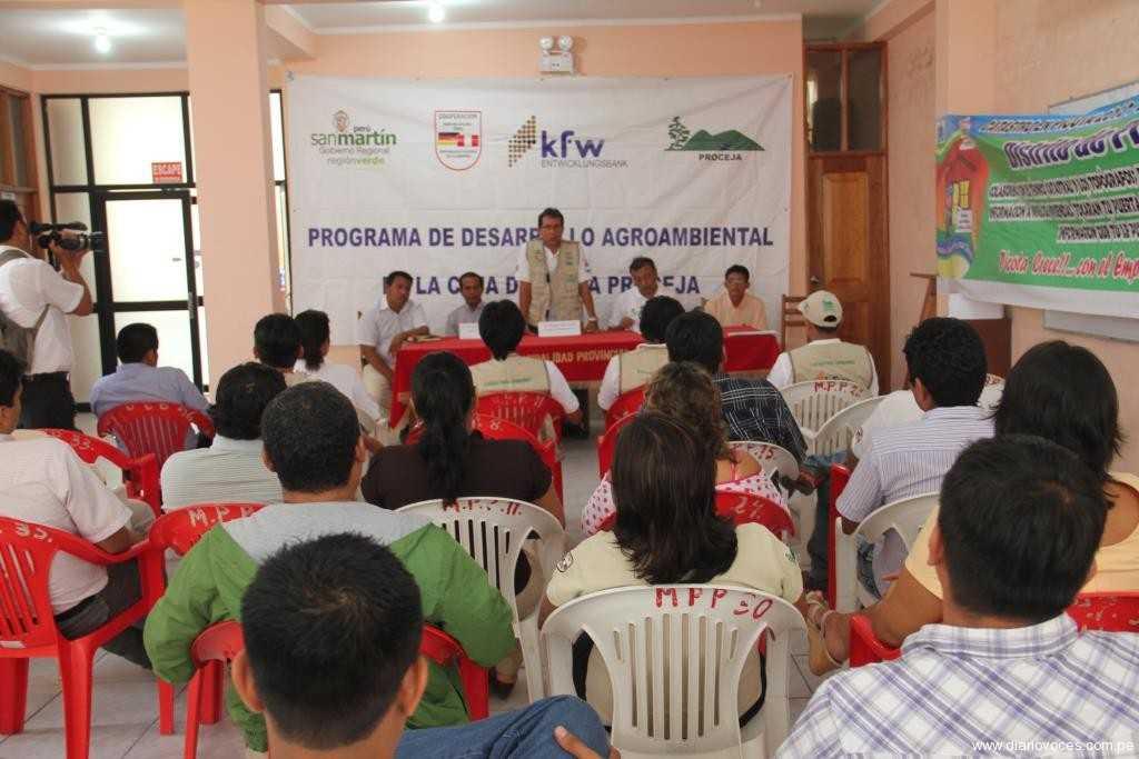 Goresam lanza proyecto de catastro urbano en cuencas de Mishquiyacu y Ponaza