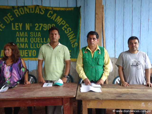 Rondas campesinas de Piscoyacu participaron en taller de capacitación