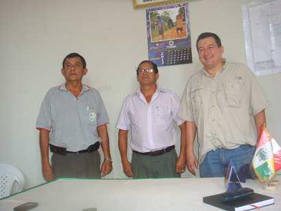Rolando Reátegui visitó provincia de El Dorado por representación parlamentaria