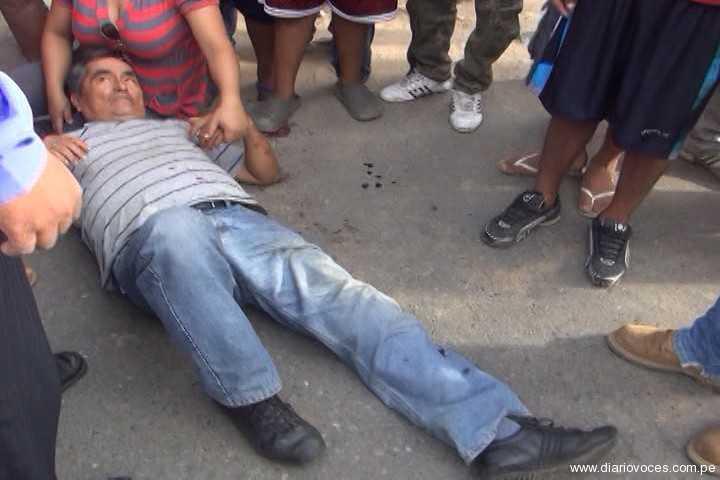Policía en situación de retiro resulta herido en choque de motocicletas