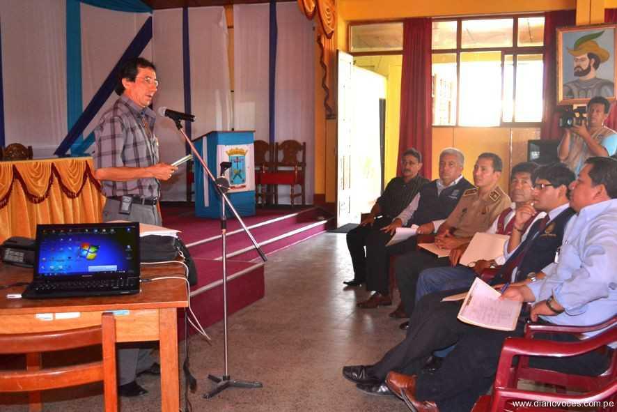 Aprueban Plan Provincial de  Seguridad Ciudadana de Moyobamba