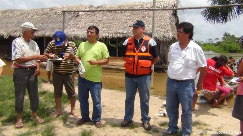 Autoridades evalúan declarar en emergencia Alto Amazonas