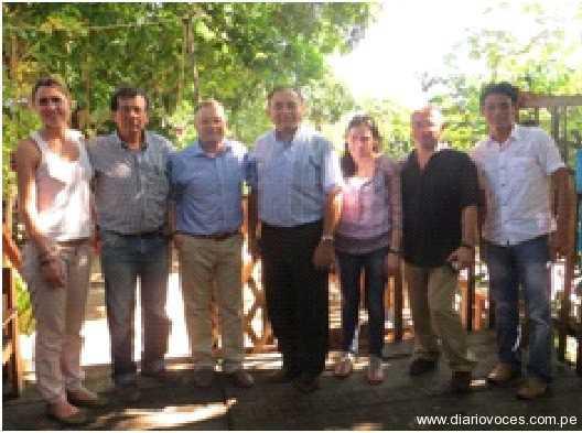Alcalde de Saposoa preside rueda de  negocios Ibero – Amazónico en Saposoa