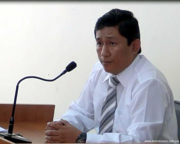 Postergan lectura de sentencia contra Chanjan Ghio