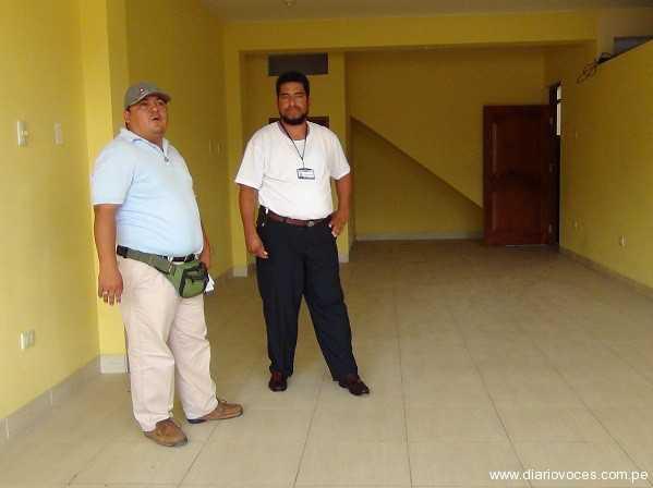 Autoridades de Morales inspeccionan local donde atenderá notario temporal