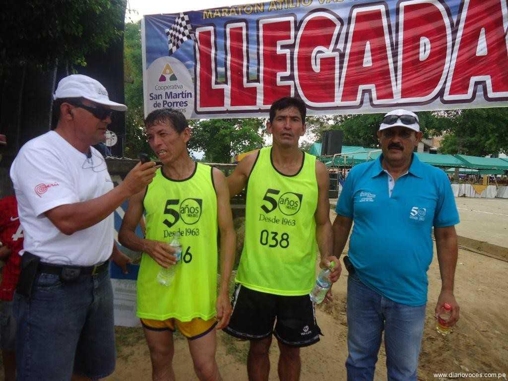 """Con éxito se desarrolló 1ra. Maratón """"Atilio Vásquez Gómez"""""""