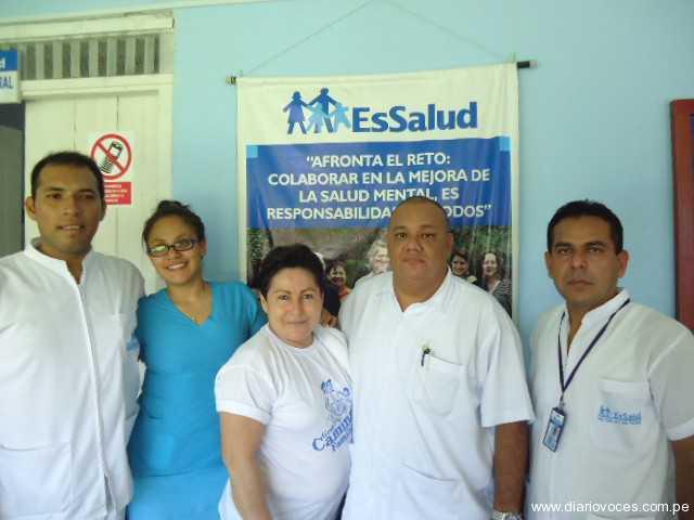 EsSalud Saposoa celebra el Día Mundial del Riñón