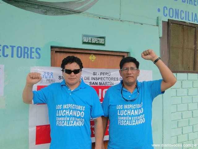 Inspectores del Ministerio de Trabajo exigen se cumpla sus derechos laborales