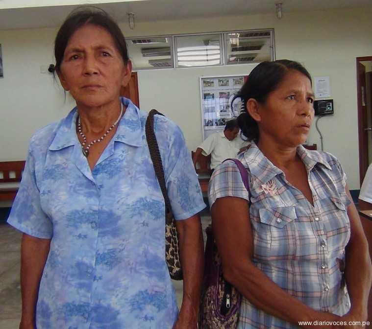 Deudos de obreros fallecidos de  Palmas del Shanusi claman justicia