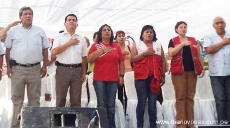 Ministra Ana Jara inauguró Centro de Emergencia Mujer