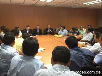 Alcaldes se reunieron con ministro de Vivienda