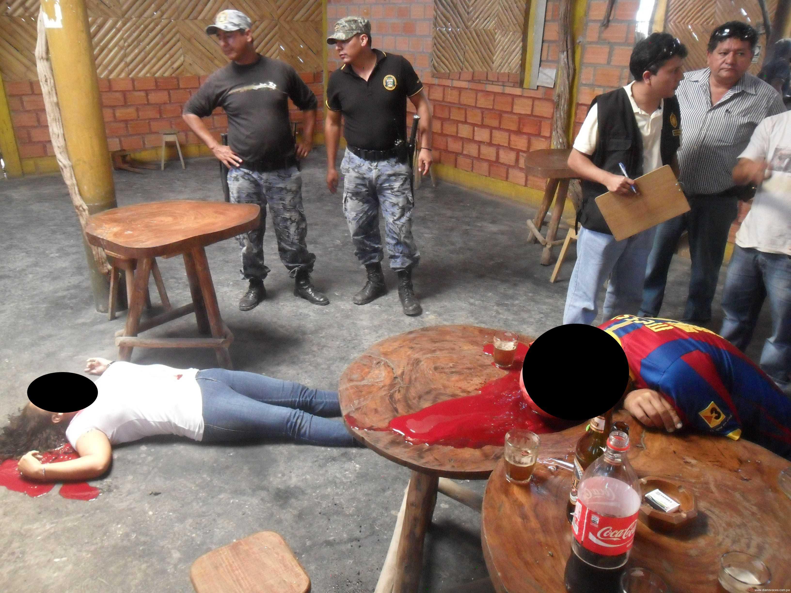 A balazos asesinan a pareja de amantes en Nueva Cajamarca