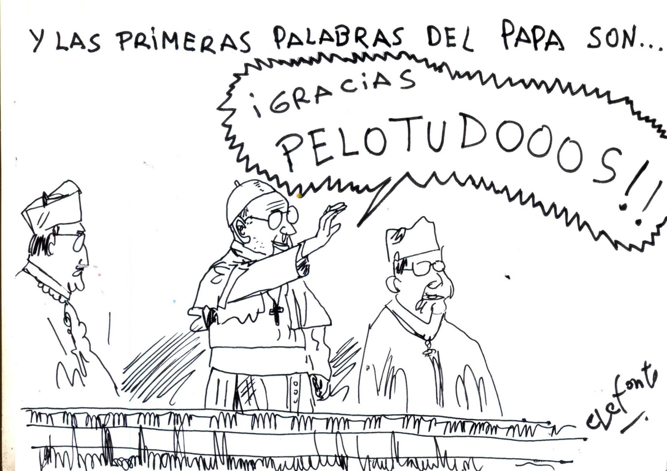 caricatura 14/03/2013