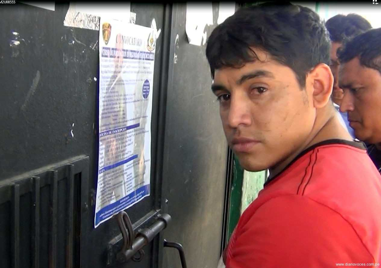 Recluyen a sujeto sindicado de asesinar a ingeniero agrónomo en el  barrio Huayco