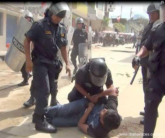Por orden judicial, ex alcalde de La Banda de Shilcayo es desalojado de su vivienda