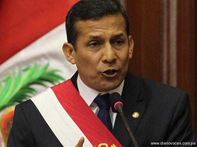 Principales líderes de oposición no irán a cita con Ollanta Humala