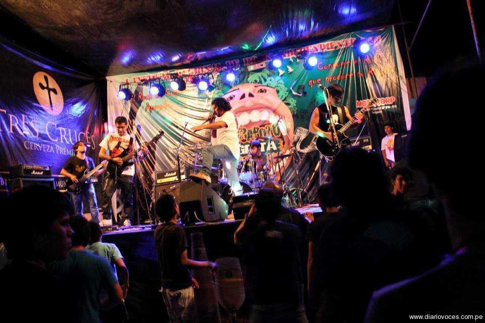 Tarapoto celebró gritando rock