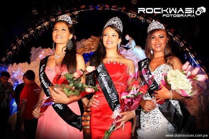 El viernes 9 eligieron a la reinas del aniversario de Tarapoto