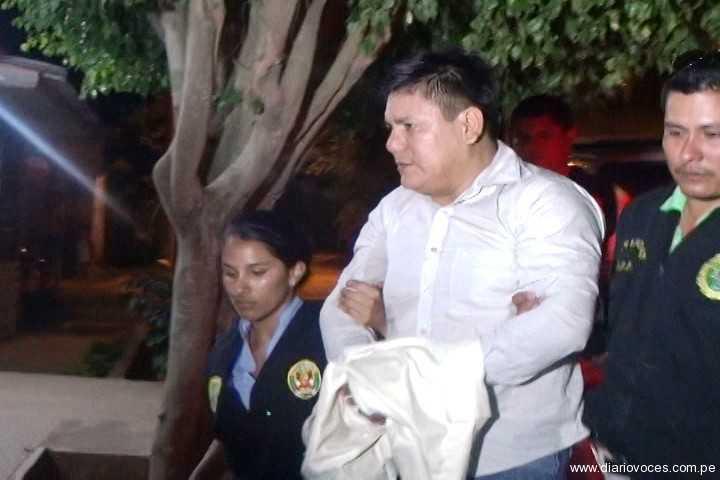 Trasladan a Lima a funcionario del SAT intervenido por pedofilia