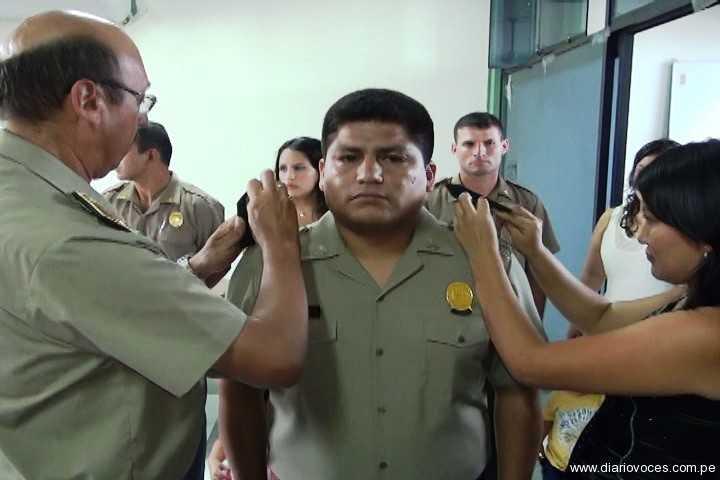 Ascienden once oficiales de la Dirección Territorial Policial de San Martín