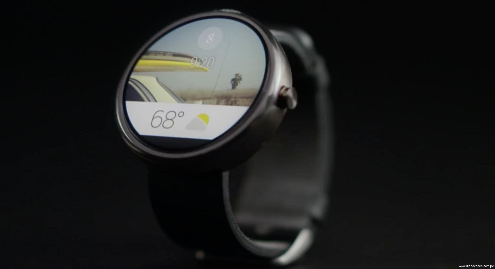 Google entra con todo en los relojes inteligentes