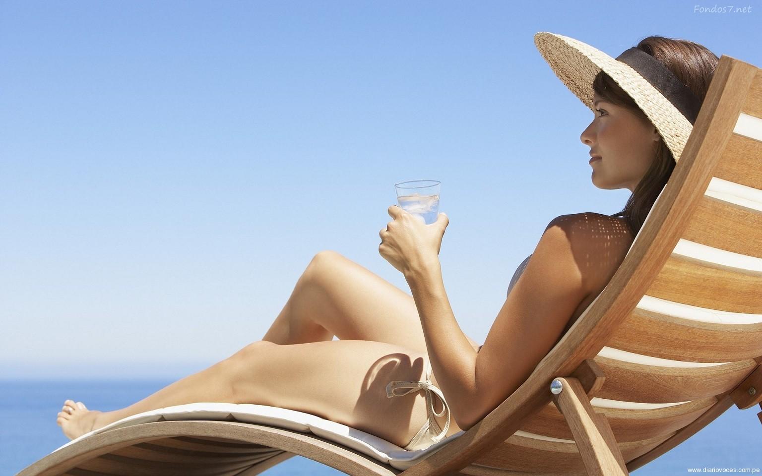 Identifican un  antioxidante que  protege la piel del sol