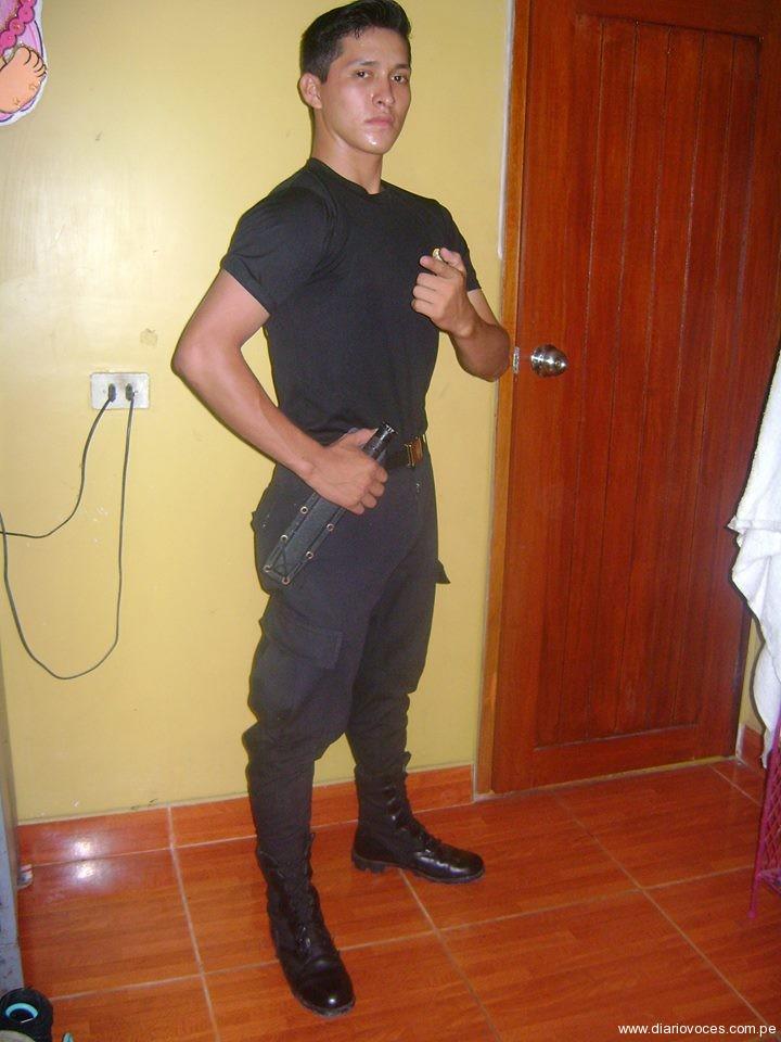 Agente de la Policía Nacional se electrocuta en Juanjui