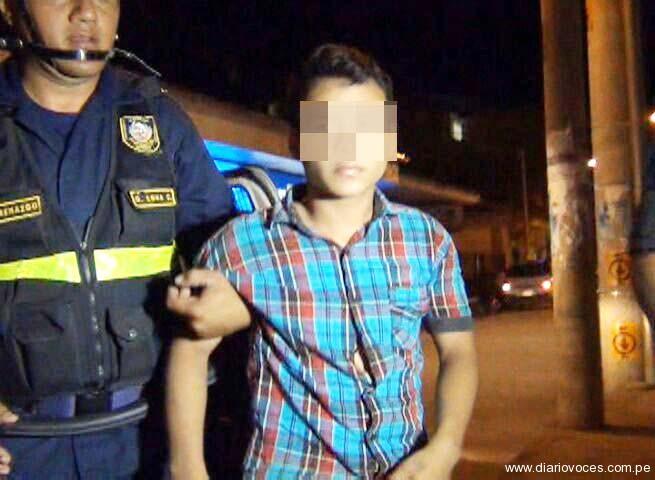 Menor de 16 años de edad roba trimóvil y ocasiona accidente