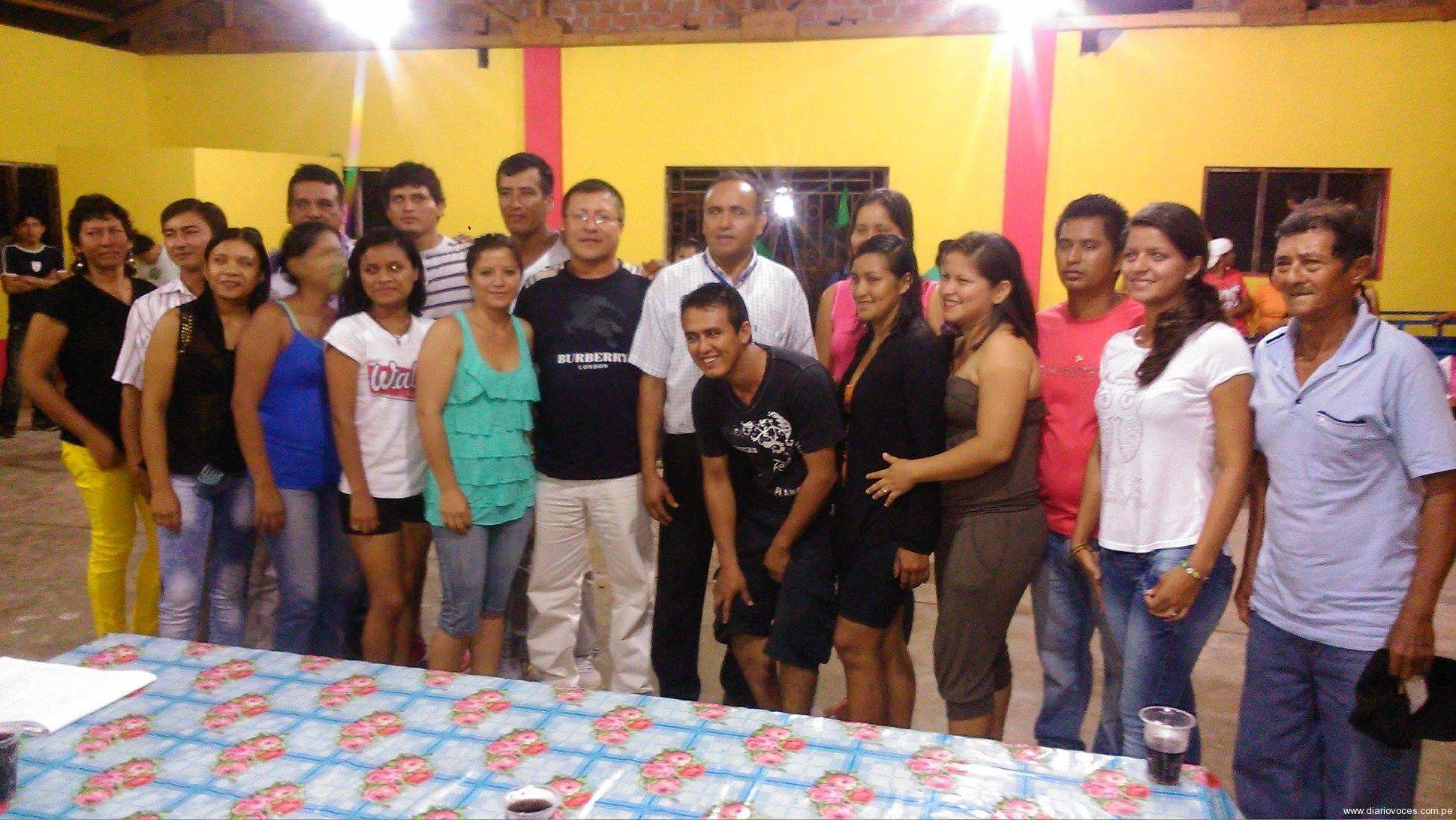 Juramentan comité de jóvenes en Tingo de Saposoa