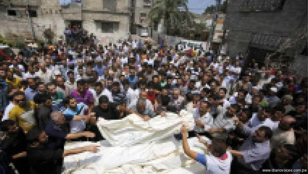 Israel atacó 187 blancos en Gaza y palestinos lanzaron 25 cohetes