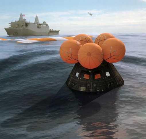 Orión: Cápsula espacial amerizó en el Pacífico tras vuelo de prueba