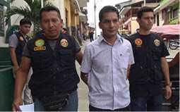 PRESUNTO ASESINO. Intentó sobornar a los policías