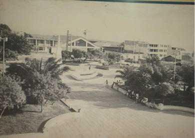 PLAZA DE ARMAS TARAPOTO . Año 1981