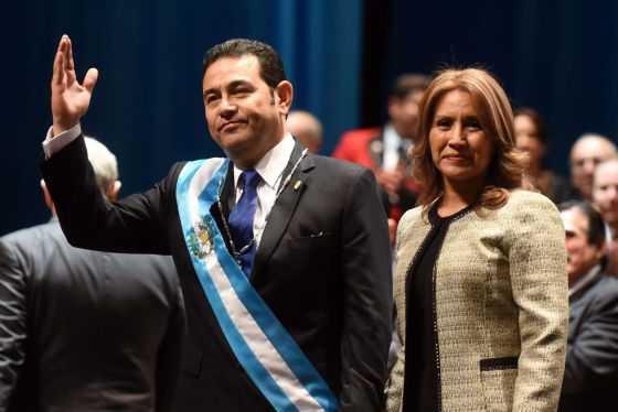 Un cómico es el nuevo presidente de Guatemala