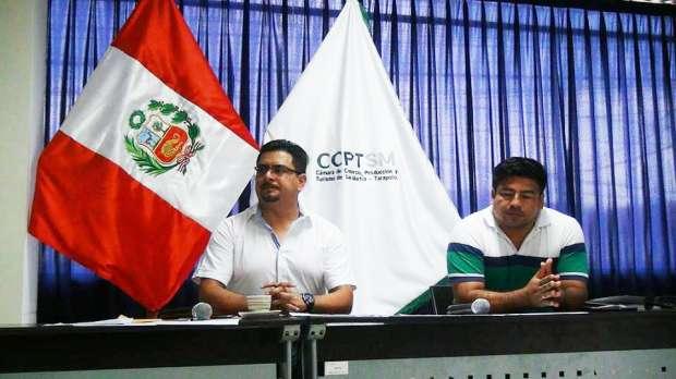 CARLOS LÓPEZ Y JAIME RENGIFO, socios de la Cámara de Comercio
