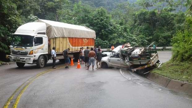Accidente carretera Yurimaguas