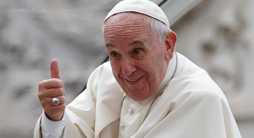 Papa Francisco: ''Ningún pueblo es criminal,  narcotraficante o violento''
