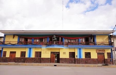 FRONTIS DE MUNICIPALIDAD PROVINCIAL DE MOYOBAMBA