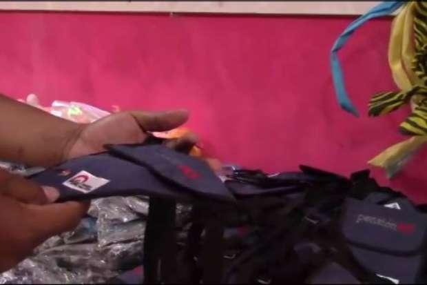 Encuentran mochilas de Pensión 65 que eran vendidas en Moyobamba