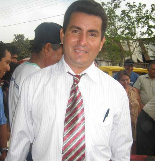RENAN SAAVEDRA. Exalcalde de Juanjui