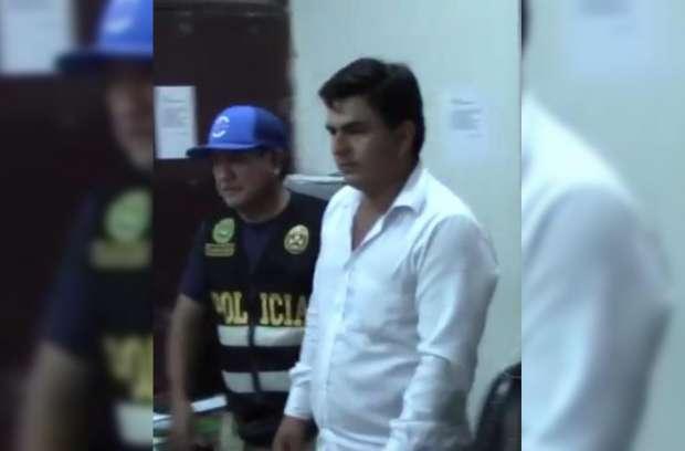 Richard Sandoval, padre de menor es detenido