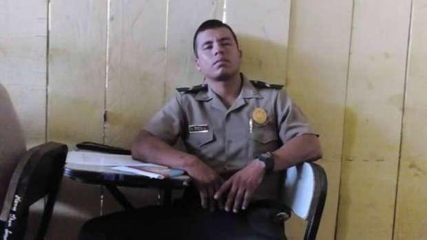 MIGUEL ANTONIO GONZAGA, AGENTE POLICIAL INTERVENIDO
