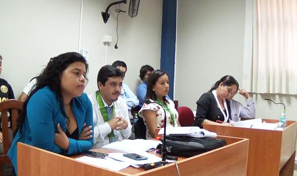 AUDIENCIA DE CASO DE SECRETARIA GENERAL