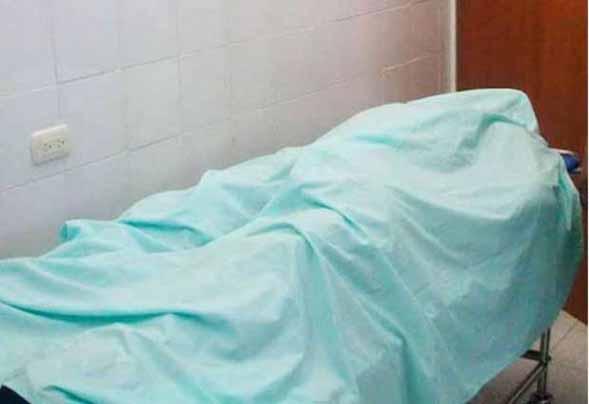 CADÁVER DE PACIENTE EN HOSPITAL DE CONTINGENCIA